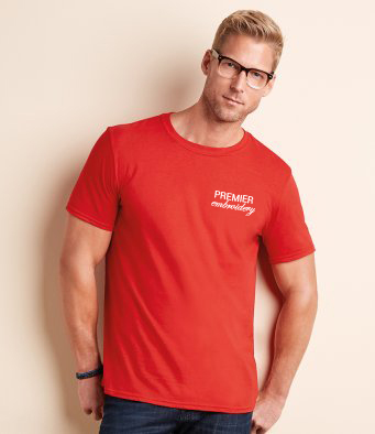 Embroidered T Shirts for Males